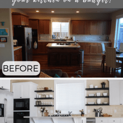 Kitchen On A Budget Kraftmaid Kitchens Diy Makeover Ideas That Will Transform Your We Recently Worked Project For Some Clients And As I Was Doing The Final Clean Up Taking Pictures Of Finished Space It Got Me Thinking