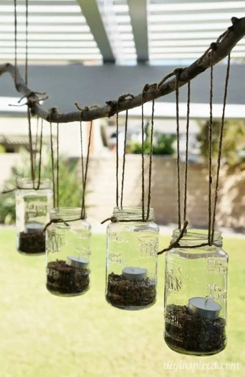 Whether you hang it on a tree or on a pillar, it will definitely create the. 30 Best Diy Mason Jar Lights With Building Instructions Joyful Derivatives