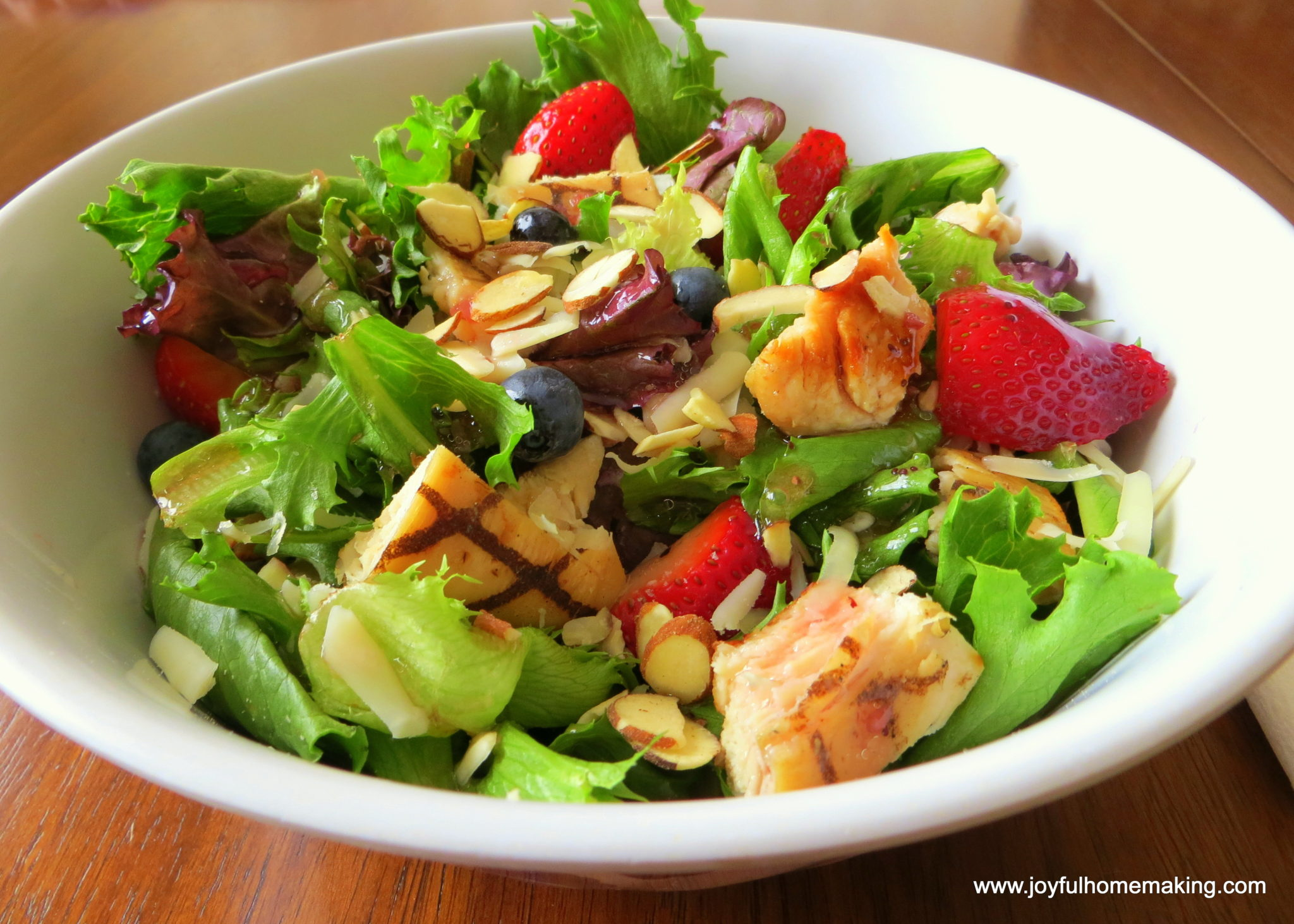031 004 1024x730 Wendys Copycat Berry Almond Chicken Salad