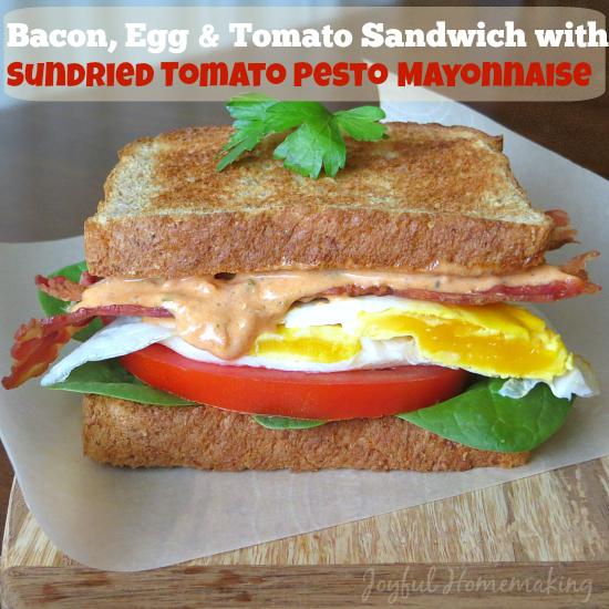 sundried tomato mayo blt7
