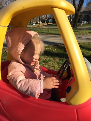 Little KS out for a drive