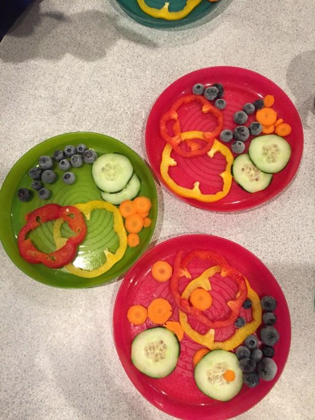 Rainbow snack-St. Patrick's Day