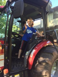 Tractor Riding/driving