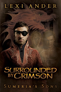 Review: Surrounded by Crimson by Lexi Ander