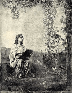 Picture 1: The Muse of Painting, John La Farge