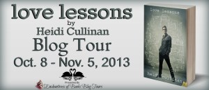 Love Lessons Blog Tour Banner