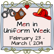 men in uniform week