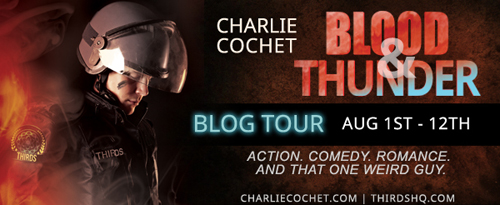 Blood & Thunder blog tour banner