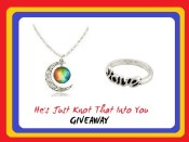 Pictures of the snail mail giveaway items. :)