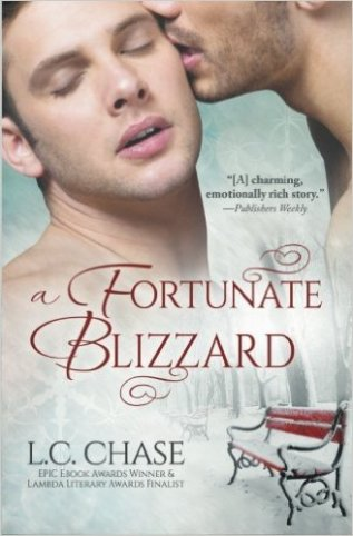 Review: A Fortunate Blizzard by L.C. Chase
