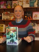 Joe Cosentino at a book signing for Drama Queen (the first Nicky and Noah mystery published by Lethe Press) at Barnes & Nobles Booksellers
