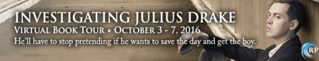 Investigating Julius Drake Tour Banner