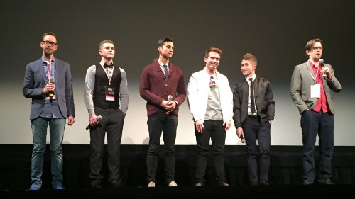 Q&A after the film (and Jay on the left)