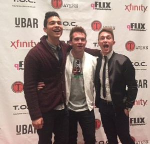 The three co-stars