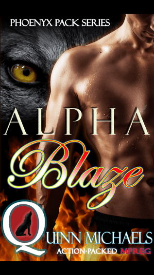 Review: Alpha Blaze by Quinn Michaels
