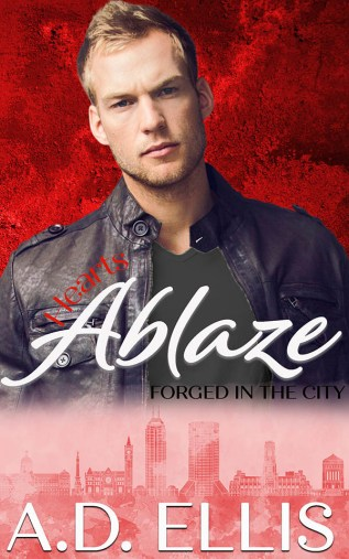 Guest Post and Giveaway: Hearts Ablaze by A.D. Ellis