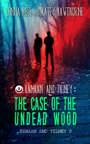 Guest Post and Giveaway: The Case of the Undead Wood by Jenna Rose and Katey Hawthorne