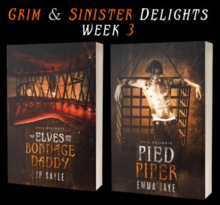 Guest Post and Giveaway: Grim and Sinister Delights with JP Sayle and Emma Jaye