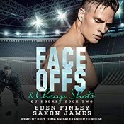 face offs and cheap shots audio cover