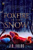 foxfire in the snow cover
