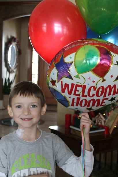 Welcome home Presto!