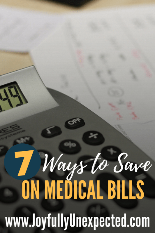 7 Ways to Save Money on Medical Bills from Joyfully Unexpected