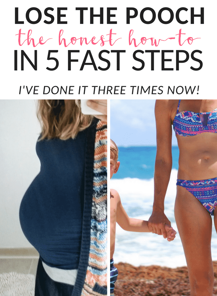 The Honest Way To Lose The Belly Pooch After Baby | Joyful ...