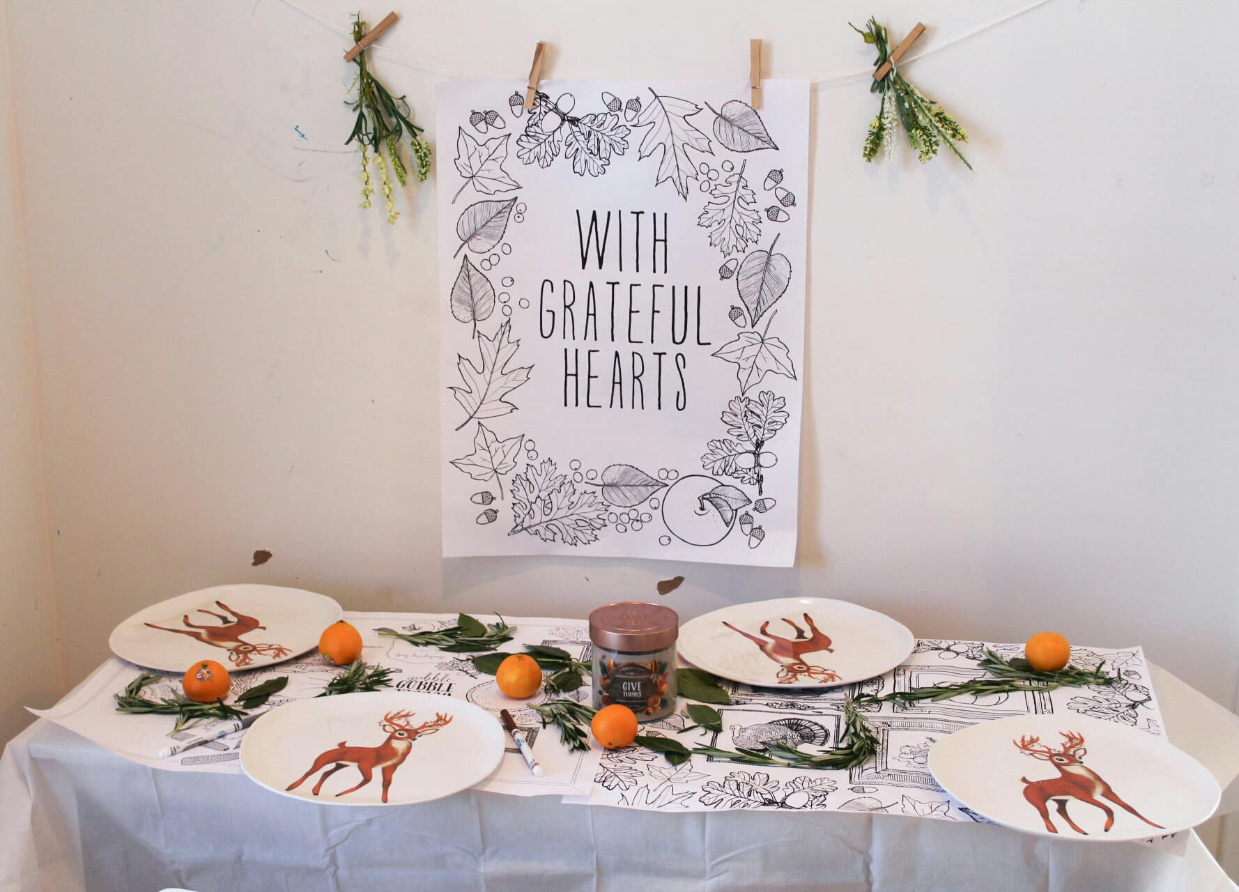 Why You Need A Kids Thanksgiving Table This year