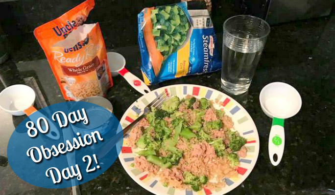Beachbody's Day 80 Obsession: Day 2 … the meal plan??
