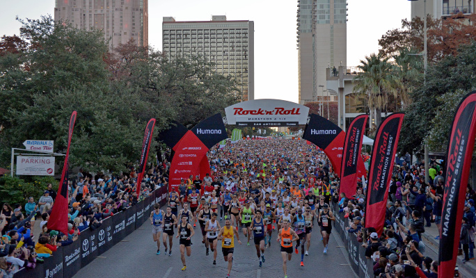 Humana Rock 'N' Roll Marathon Series: San Antonio … 170 days to go!