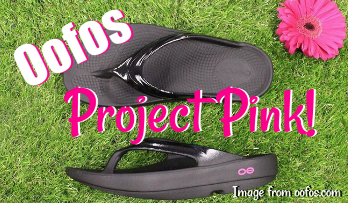 Oofos Project Pink: Feel the Oo, Give the Love!