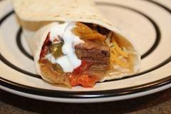 Slow Cooker Beef Fajitas (5 stars)