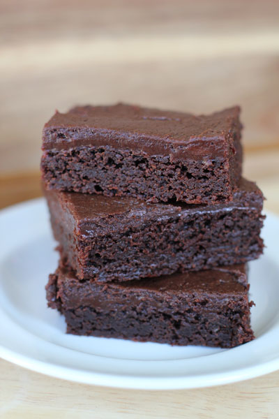 Fudge Brownies With Cream Cheese Fudge Frosting