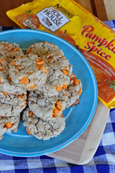 PumpkinSpiceOatmealCookies