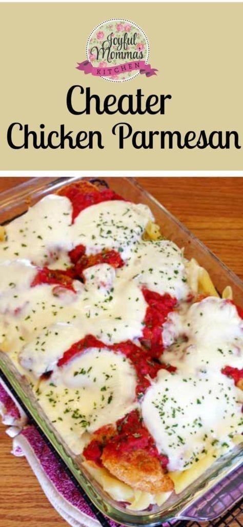 This Cheater Chicken Parmesan is the perfect dinner to whip up on a busy weeknight.