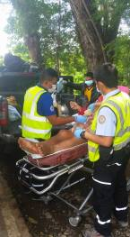 911 Davao Emergency medical team in action