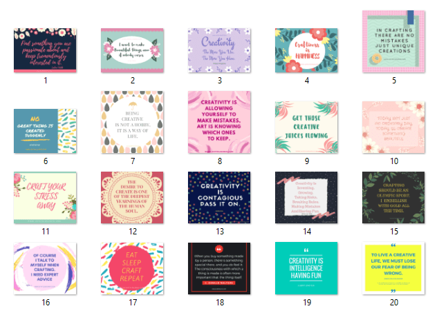 All Quotes Card