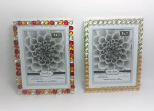 Glass Pebbles Photo Frame