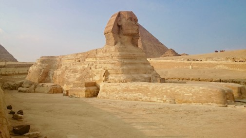 To this side, and MUCH closer to the Sphinx!!!