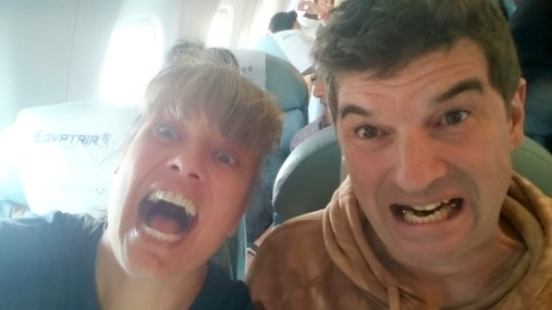 Moment of travelling exhaustion insanity!!!