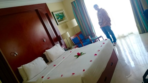Our room.....