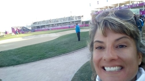 I walked the ENTIRE 18 holes with Sergio!!!