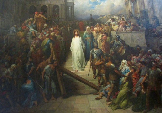 1874-1880 - Gustave Dore's - Christ Leaving the Praetoruim