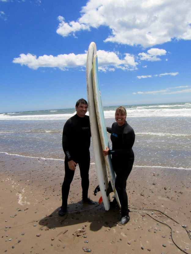 Surfing!! Lawrencetown Beach.
