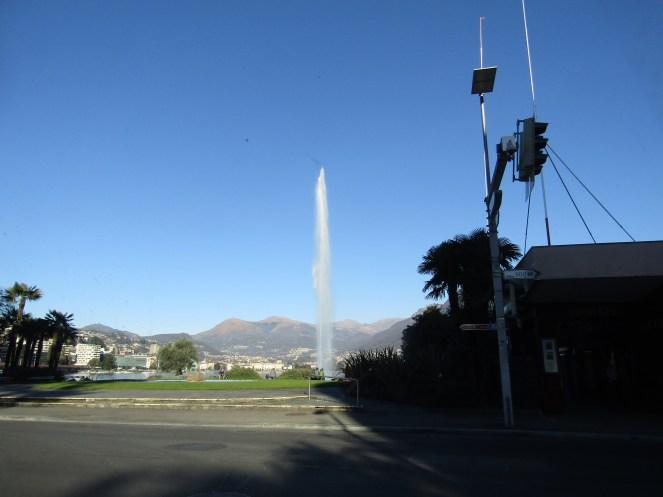 Fountain in Lugano.