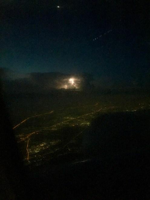 ...watching lightening storm in this cloud!!!