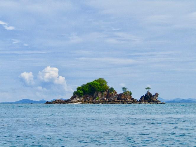Island along the way