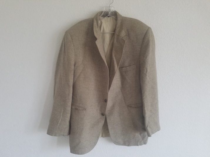 a battered sports coat that holds memories