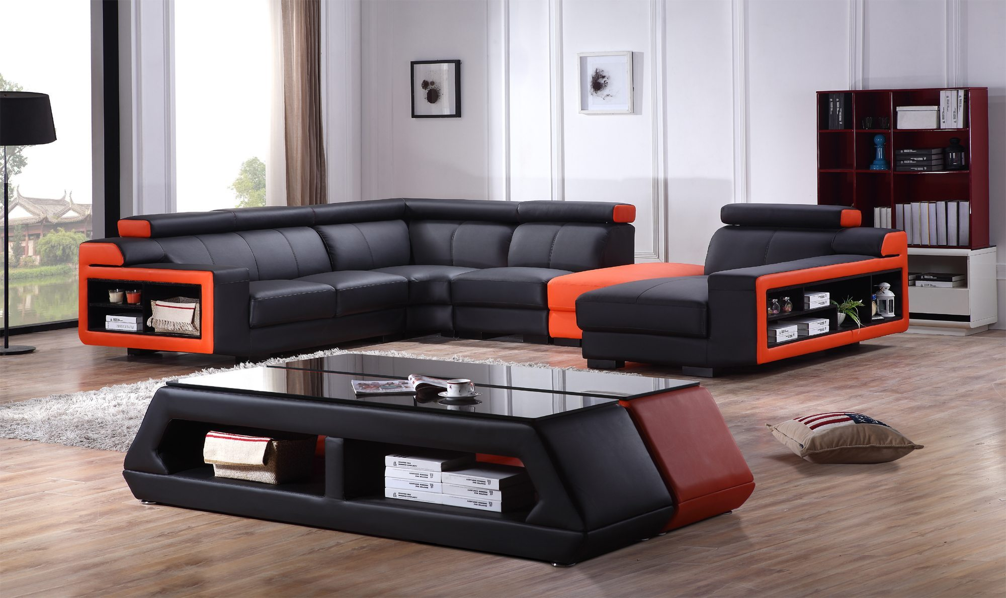 Lounge Couch Modern L-shape Sofa - Joy Furniture