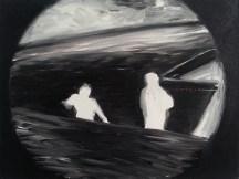 Maritime (FLIR), 2013, oil/canvas, 12x16 inches